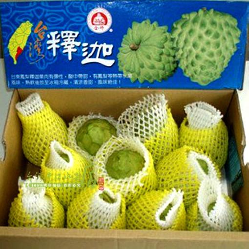 释迦果台湾释迦水果 新鲜释迦摩尼果番荔枝整箱10斤坏包赔已断货