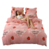 Coral fleece quilt single piece winter thickened warmth plus fluff double fleece single flannel plus down quilt cover
