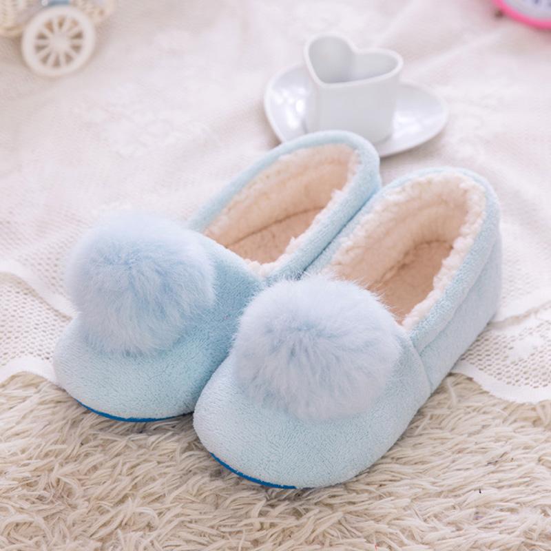 冬季月子鞋 产后包跟软底孕妇拖鞋秋冬季防滑大码月子保暖棉鞋