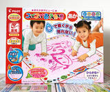 Japan PILOT Tupper children graffiti canvas water magic canvas 4-color watercolor drawing board repeatedly using environmentally friendly
