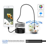 WIFI endoscope HD camera 2 million pixel auto repair pipe industry Android Apple mobile phone endoscope