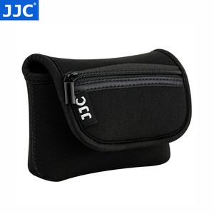 JJC 卡片相机包索尼黑卡RX100系列内胆包理光GR3保护套佳能G7X奥林巴斯TG系列收纳包