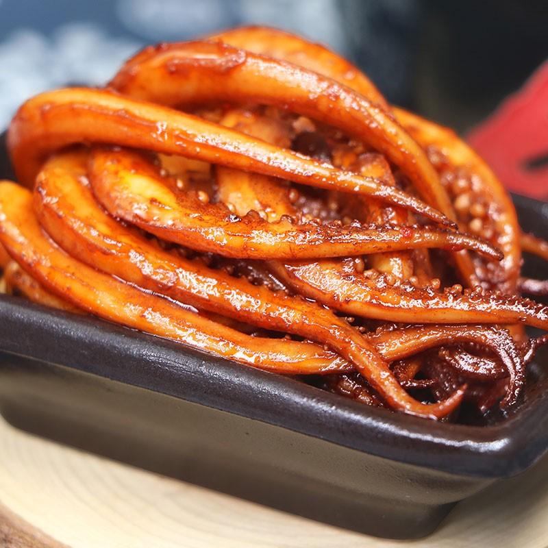 香辣铁板纯鱿鱼须麻辣即食海鲜零食小吃袋装 尝鲜价