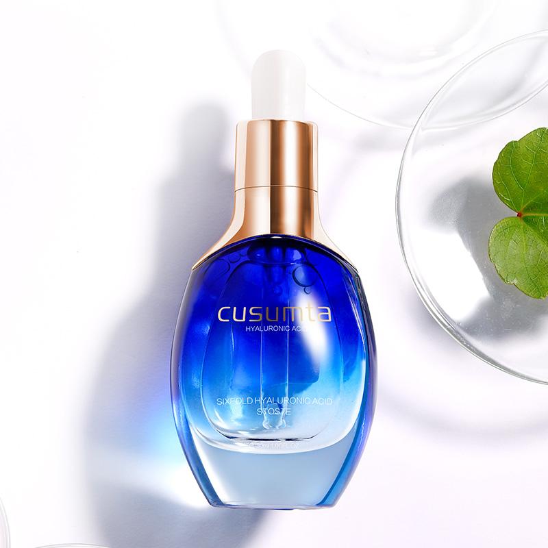 原液玻璃玻料泼尿玻尿酸精华液正品泡面膜水保湿补水波尿酸小瓶装