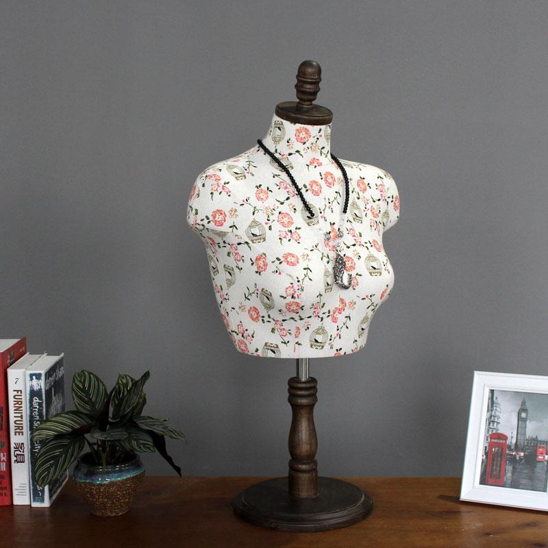 服装内衣模特大码文胸罩展示上半身项链丝巾拍摄饰品假人架子橱窗