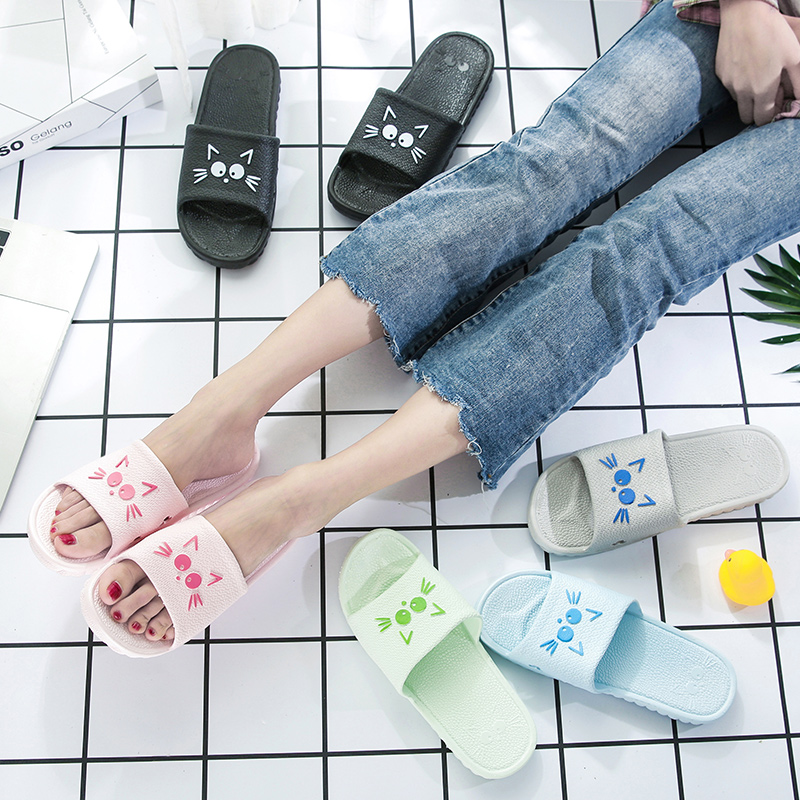 家居凉拖鞋女夏天浴室居家室内情侣防滑可爱洗澡家用夏季男士拖鞋