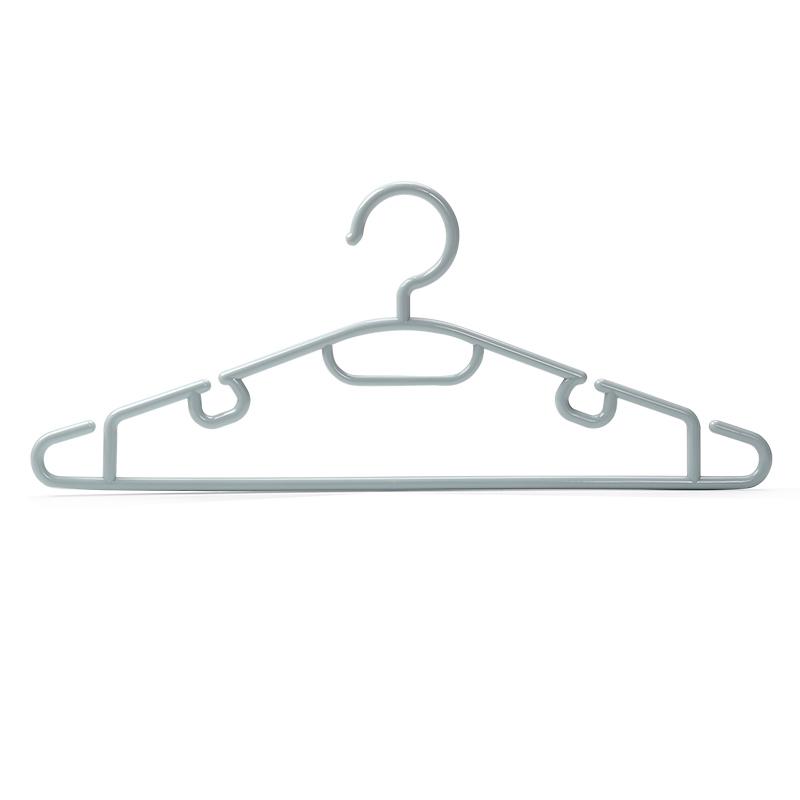 家用塑料衣架挂衣架20个装多功能加厚衣服挂无痕衣服撑子防风衣挂