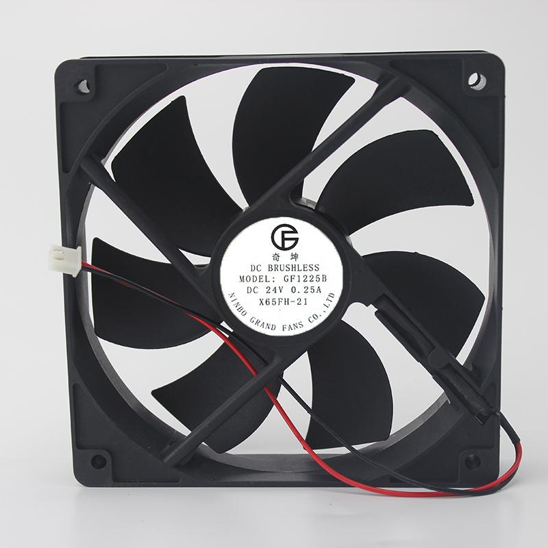 奇坤GF 24V 0.25A GF1225B 12025 X65FH-21 变频器 全新