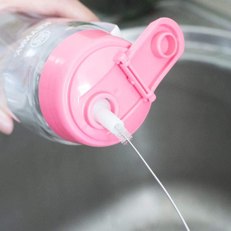 吸管刷水杯奶瓶吸管用清洁刷长短大幅度弯曲不锈钢刷小刷子洗杯刷