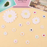 Lei Sibu stickers affixed cloth patch skirt dress pants clothing materials soluble embroidery diy repair small daisy flowers
