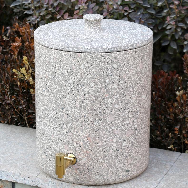 特优麦饭石饮水机水桶天然原石储水缸罐过滤净化器家用台式带龙头