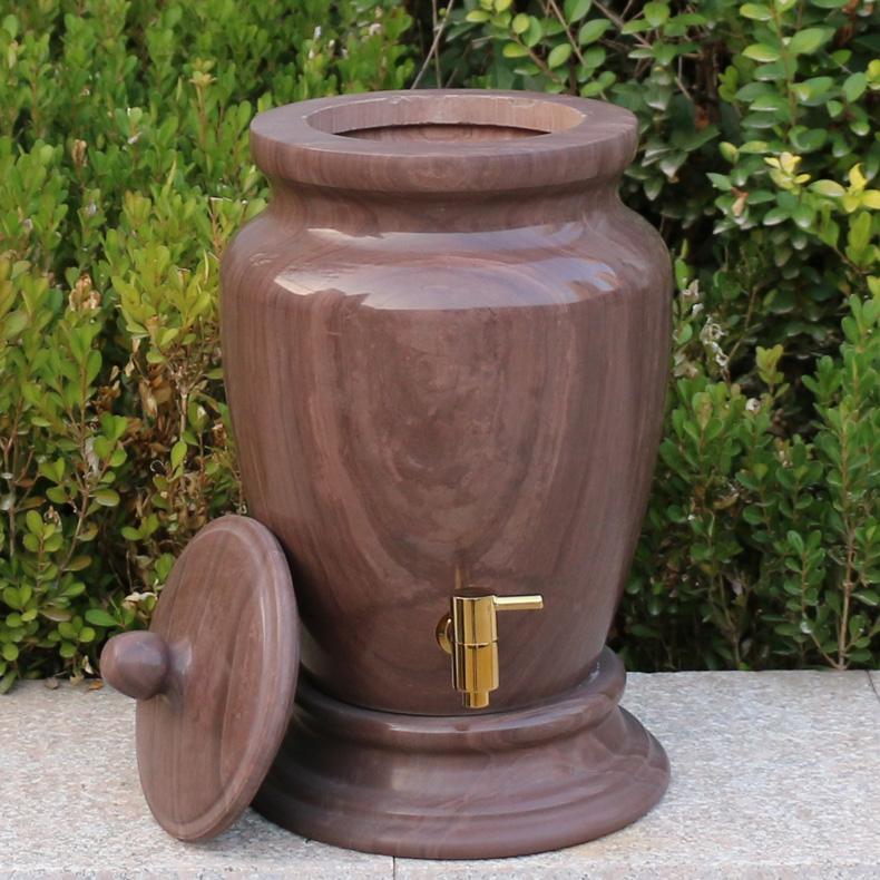 御工坊木鱼石饮水机木鱼石饮水器水罐水桶无蜡打磨 包邮