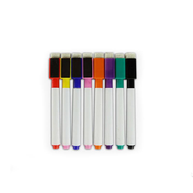 彩色小号笔 水溶性 易书写 儿童 白板笔 水笔记号笔 黑 蓝 红 绿