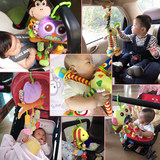 0 1 year old baby stroller baby bed hanging wind chimes hanging bed bell music to appease the toy car safety seat
