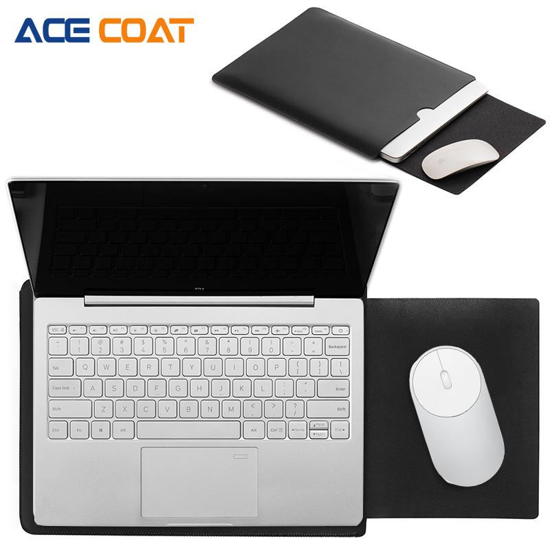 ACECOAT小米筆記本內膽包小米Air12.5/13.3手提電腦包Pro15.6英寸電腦袋自帶滑鼠墊男女士文藝小清新電腦套