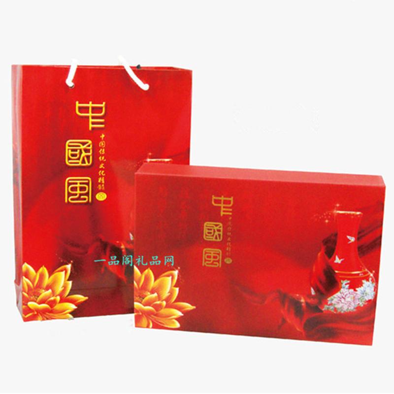 高档真瓷外国人礼品套装 中国风外事出国传统留学特色礼物送老外