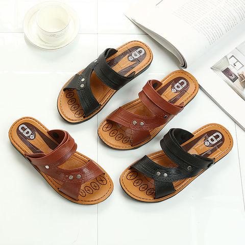 2020新款夏季凉鞋男潮流两用拖鞋休闲运动沙滩鞋户外爸爸凉拖鞋