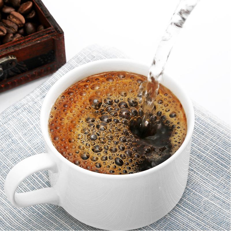 袋盒装云南小粒咖啡 75 2g 后谷咖啡纯黑咖啡粉速溶纯苦黑咖啡