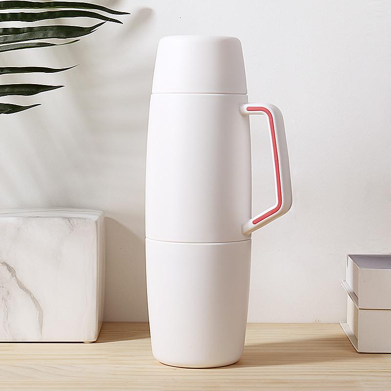 face特大容量便携杯保温壶,户外旅行暖热水瓶
