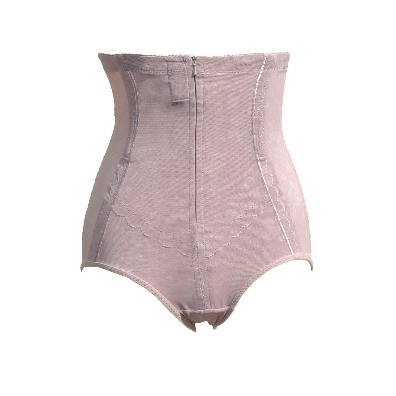 新品透气无痕亲肤拉链高腰塑身裤 超强透气舒适不卷边提臀收腹裤