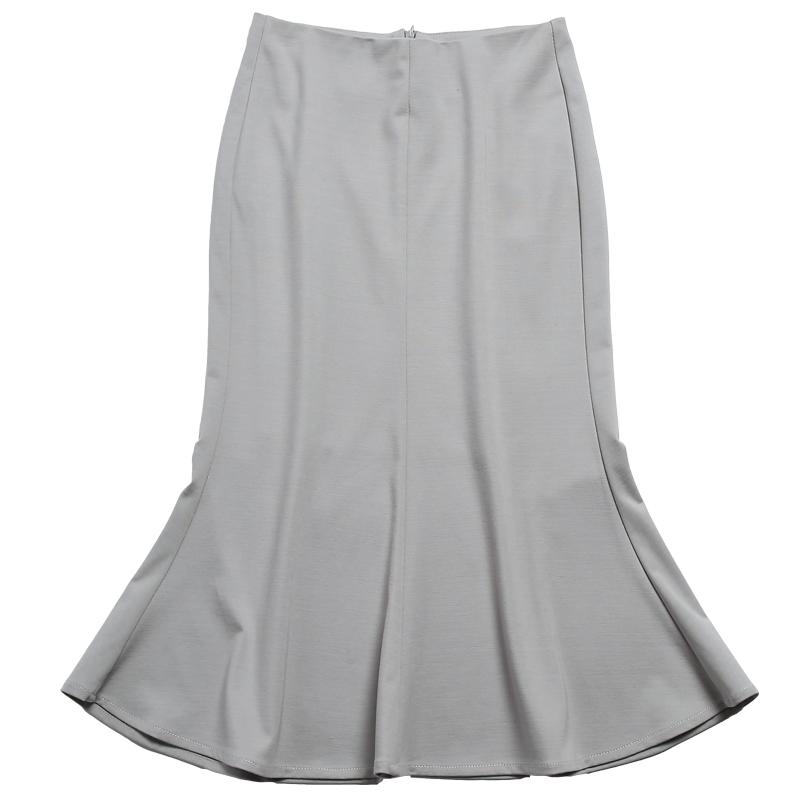 a字裙高腰半身裙女夏季包臀裙中裙显瘦中长款弹力黑色鱼尾裙大码