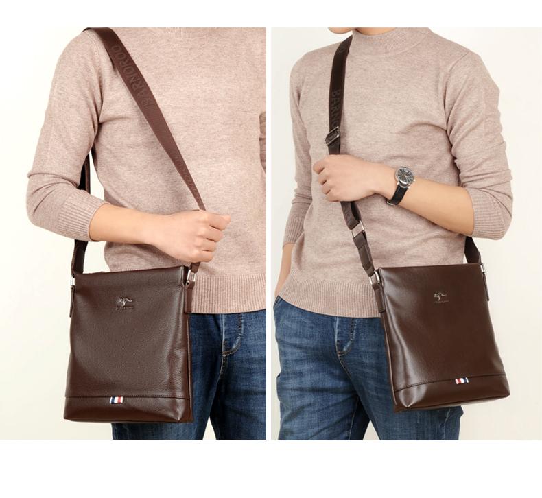 精品男包包单肩包斜挎包软皮牛皮时尚韩版男士背包竖款挂包潮皮包