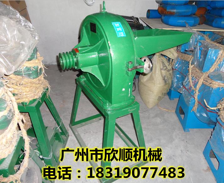 350型齿爪式玉米饲料粉碎机中大型商用电动磨面机大米糯米粉碎机