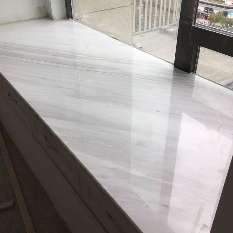 杭州人造石天然大理石窗台板石材飘窗台面板门槛石过门石定制