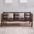 New Chinese style solid wood sofa all solid wood simple living room small apartment wooden bench sofa chair three pine wood sofa