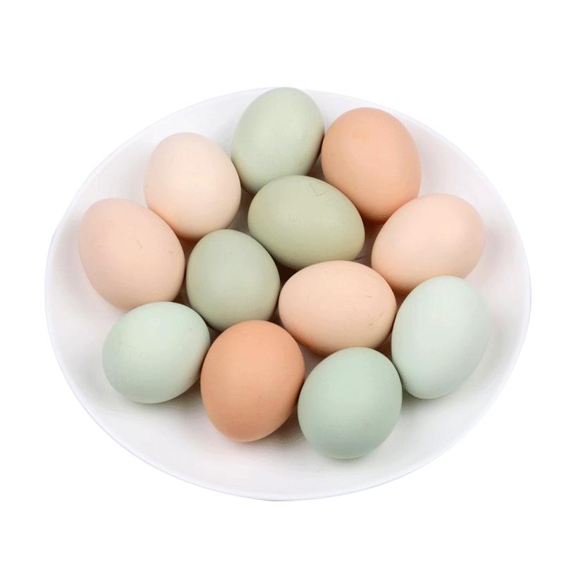 正宗土鸡蛋农家散养新鲜柴鸡蛋笨鸡蛋草鸡蛋初生蛋笨鸡蛋40枚包邮