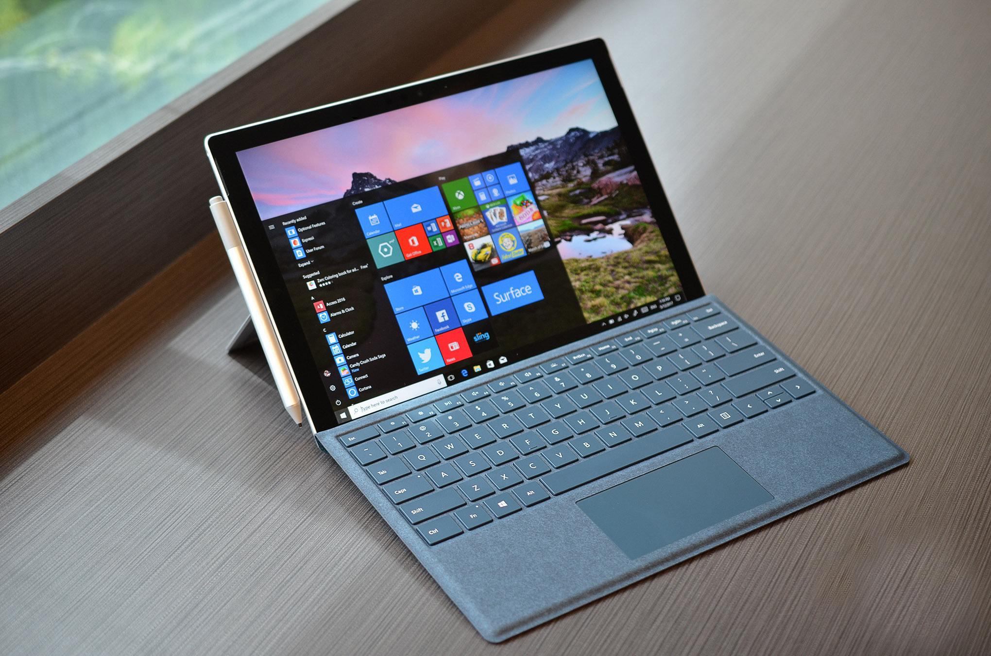 Go 轻薄便捷 win10 笔记本二合一平板电脑 6 5 Pro4 Surface 微软