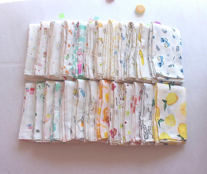 新生儿纯棉纱布包被 夏季婴儿包被 夏凉被 纯棉纱布超薄透气
