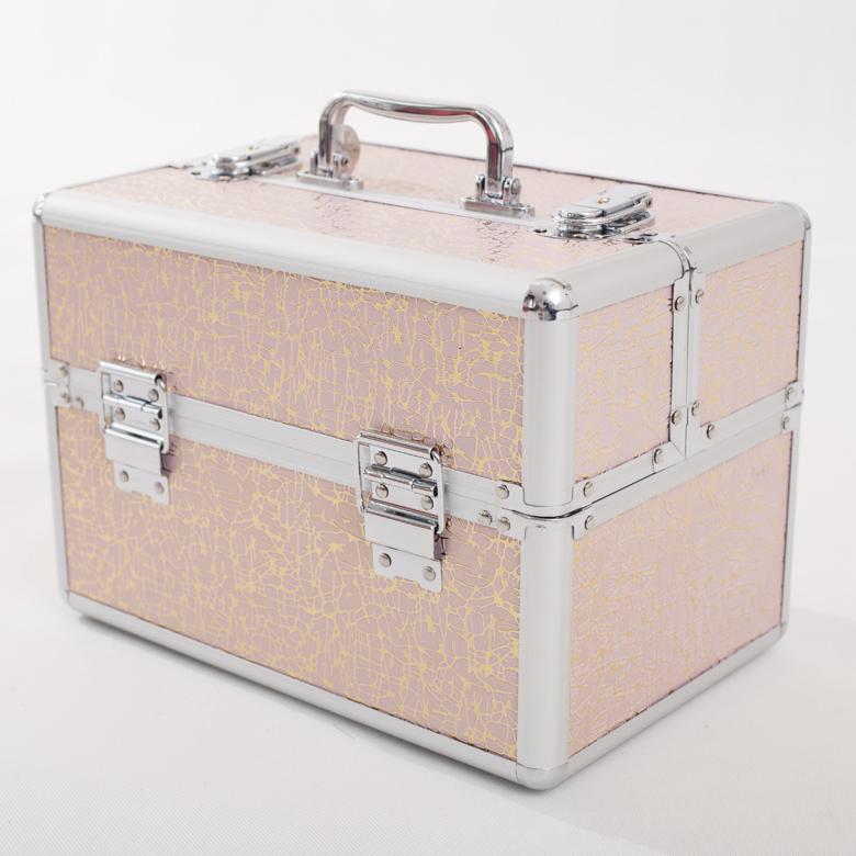 妝百納紋繡工具箱專業化妝箱化妝包手提箱化妝工具箱首飾盒美甲箱