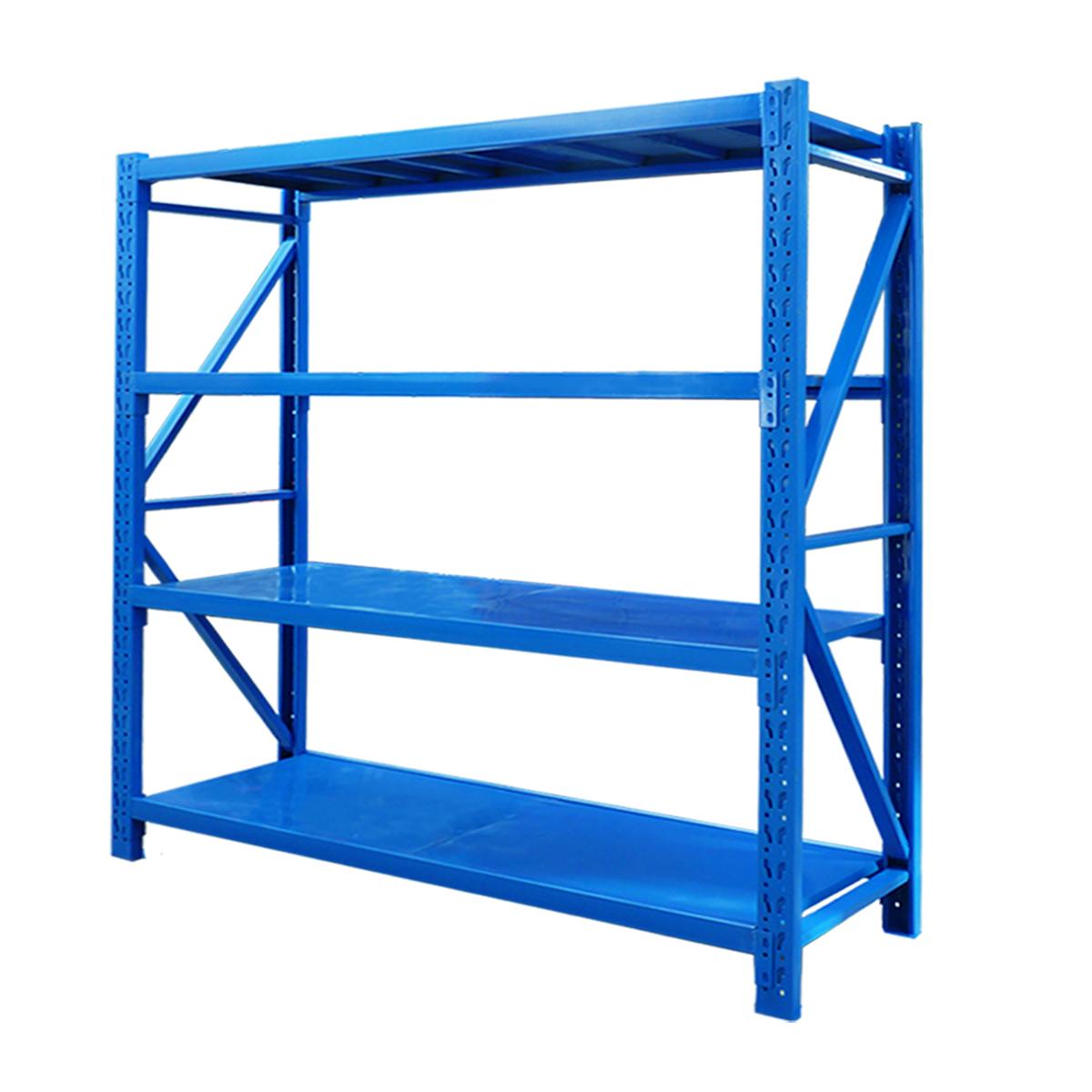 仓库货架置物架多层货架仓储藏室货架展示架自由组合家用轻铁架子
