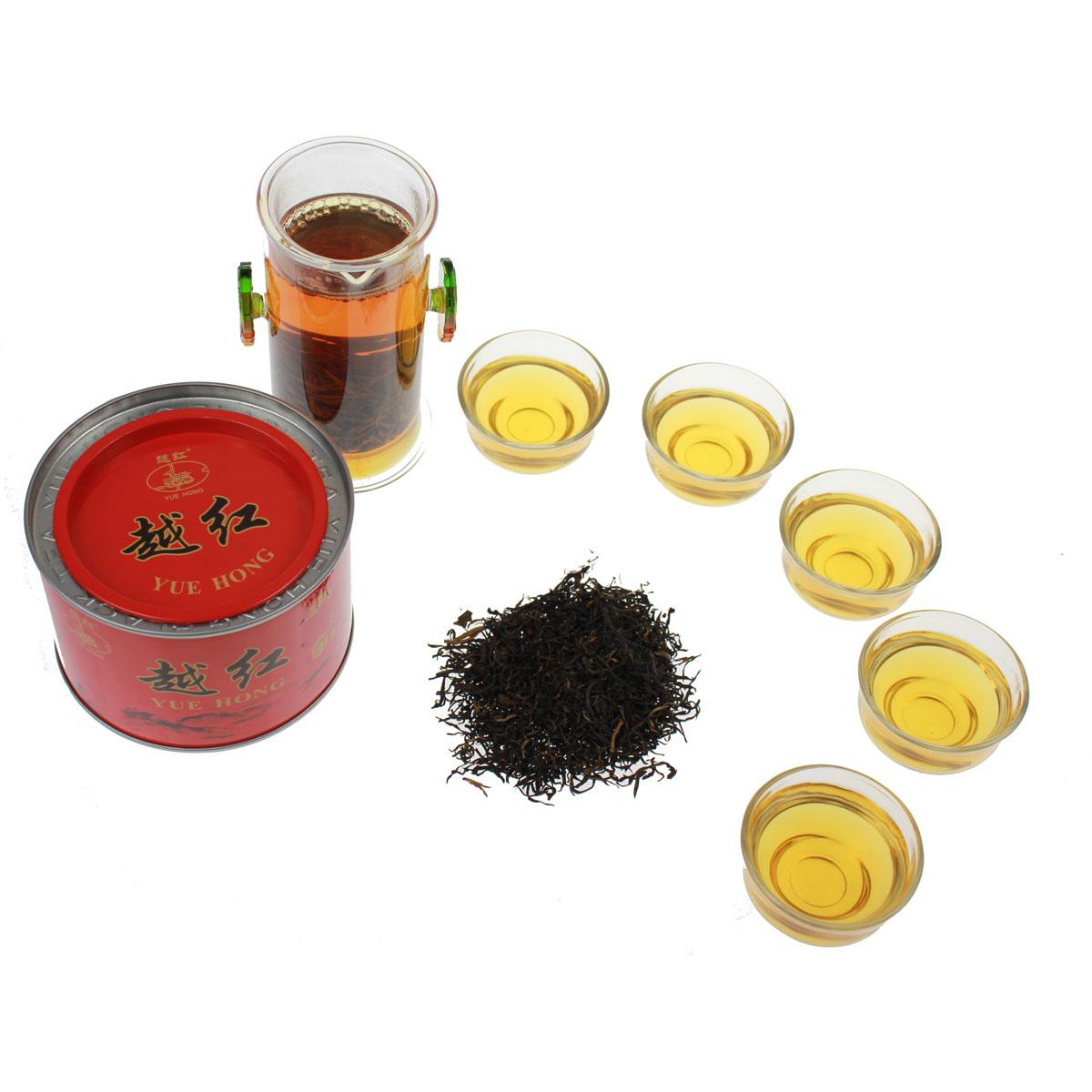绍兴特产送佳礼厂家直销绍兴名优茶 200g 新茶特级越红工夫红茶 2018