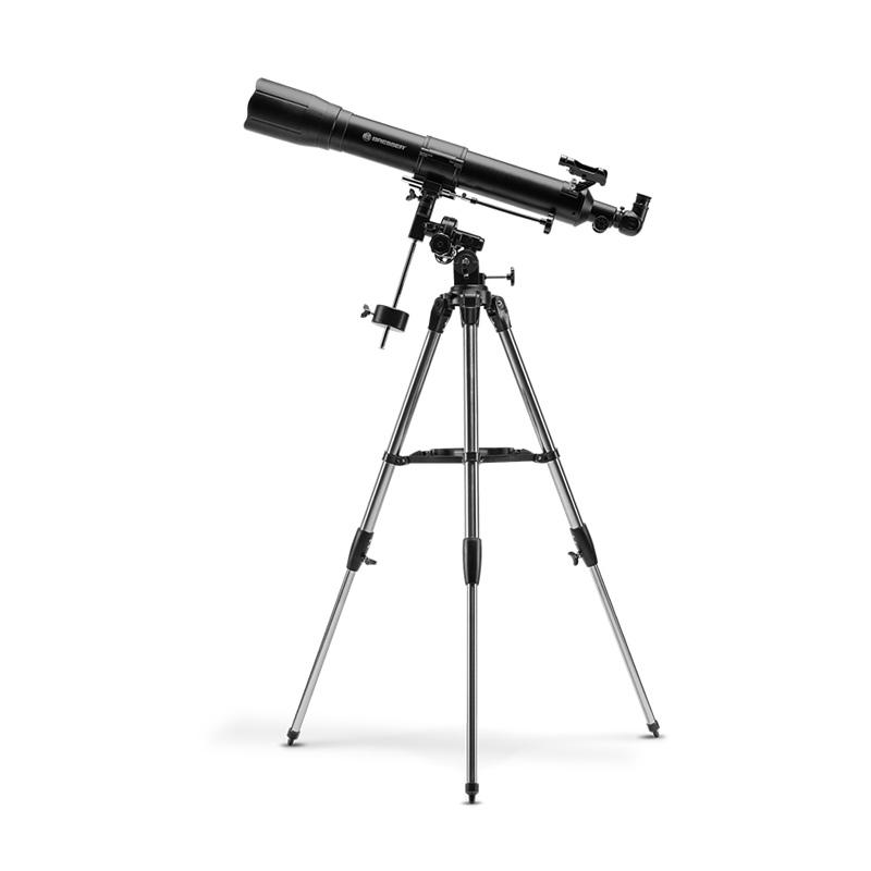德国bresser宝视德天文专业望远镜高倍高清成人专用80EQ手机