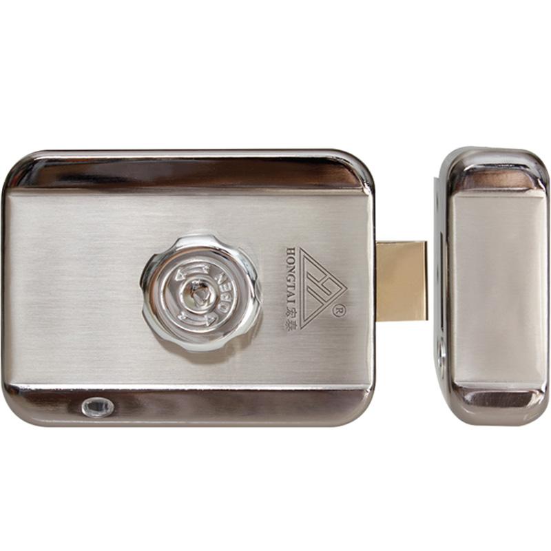 宏泰灵动锁DJ02灵性锁电机锁单元门楼宇电控锁 门锁门禁锁电子锁