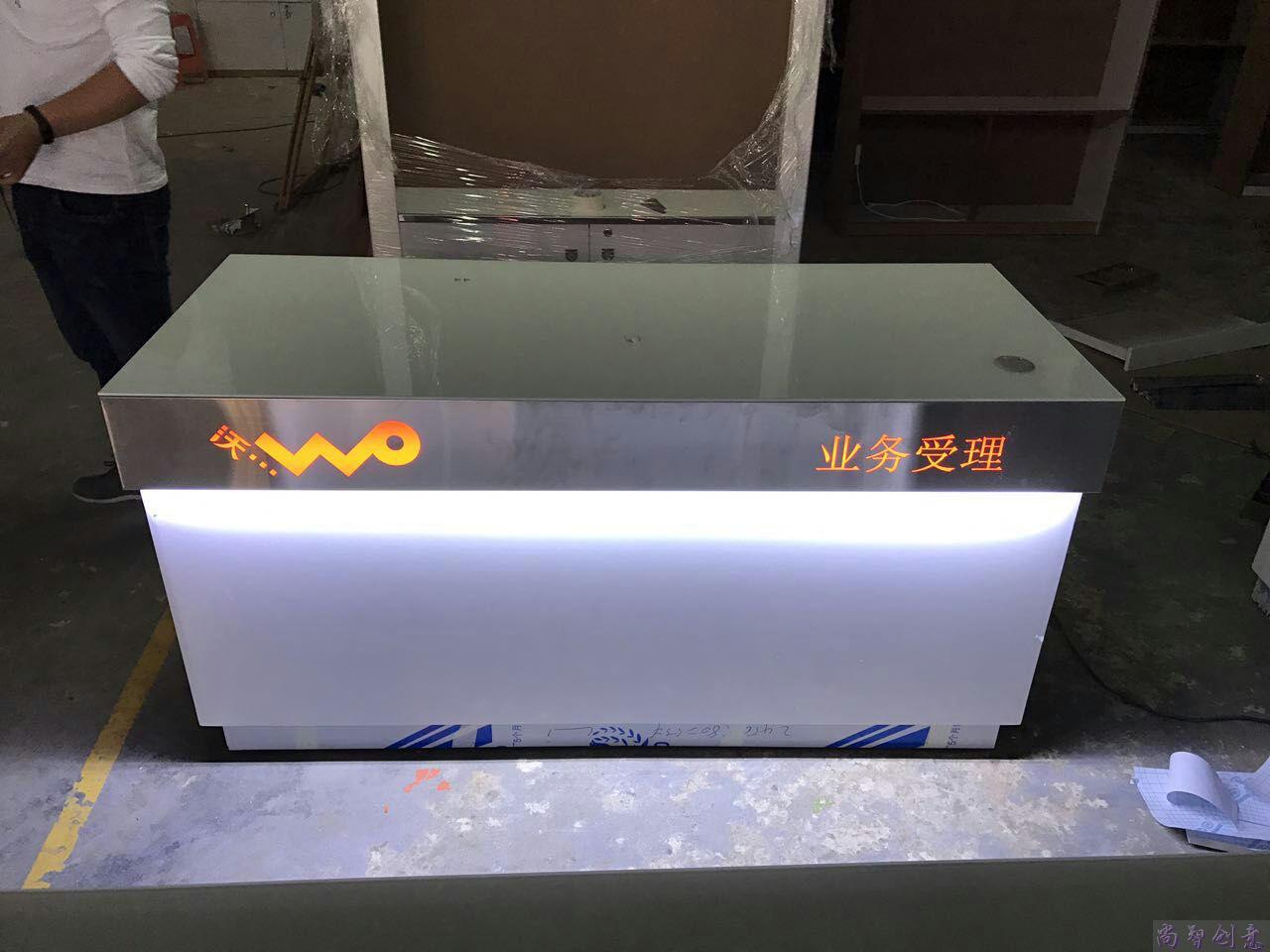 新款华为手机展示柜三星vivo荣耀小米铁质手机柜台玻璃陈列展示柜