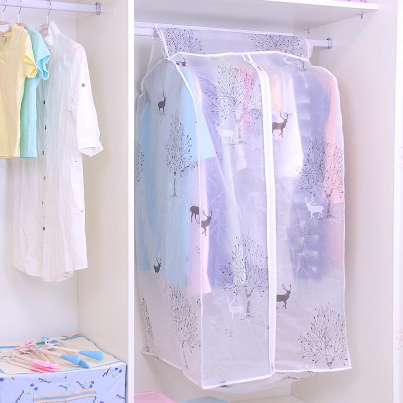 衣服防尘罩家用挂式衣罩羽绒服防尘套衣柜防尘袋大衣罩挂衣袋衣物