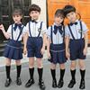 幼儿园园服夏季小学生校服男女儿童运动会套装六一合唱表演出班服