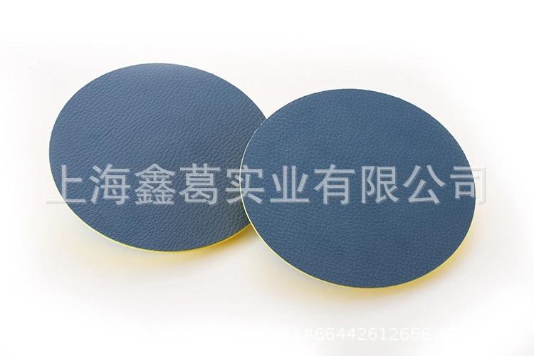 气动干磨机托盘 圆形植绒砂纸吸盘 5寸 4寸3寸2寸打磨砂纸机底盘