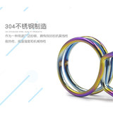 Gadek vacuum coating color stainless steel clamp tube snap clip 10 a hose clamp