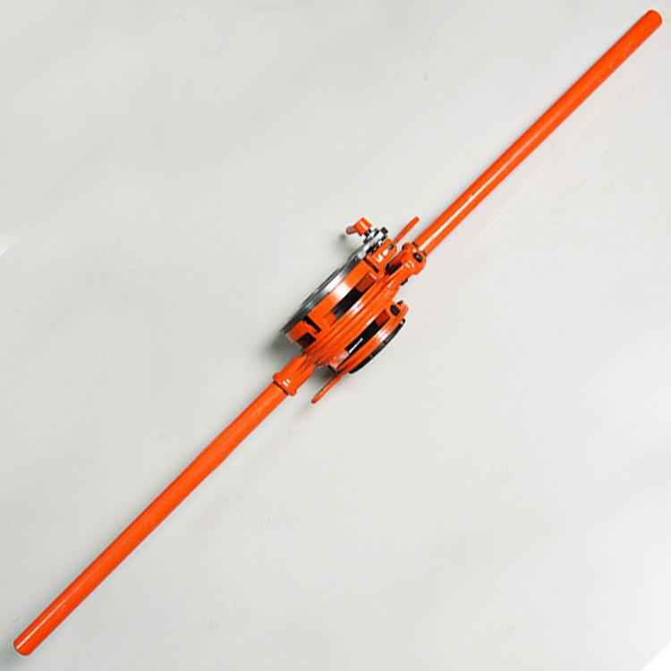重型114型管子绞板手动套丝机铰板板牙水暖工维修工具绞丝机