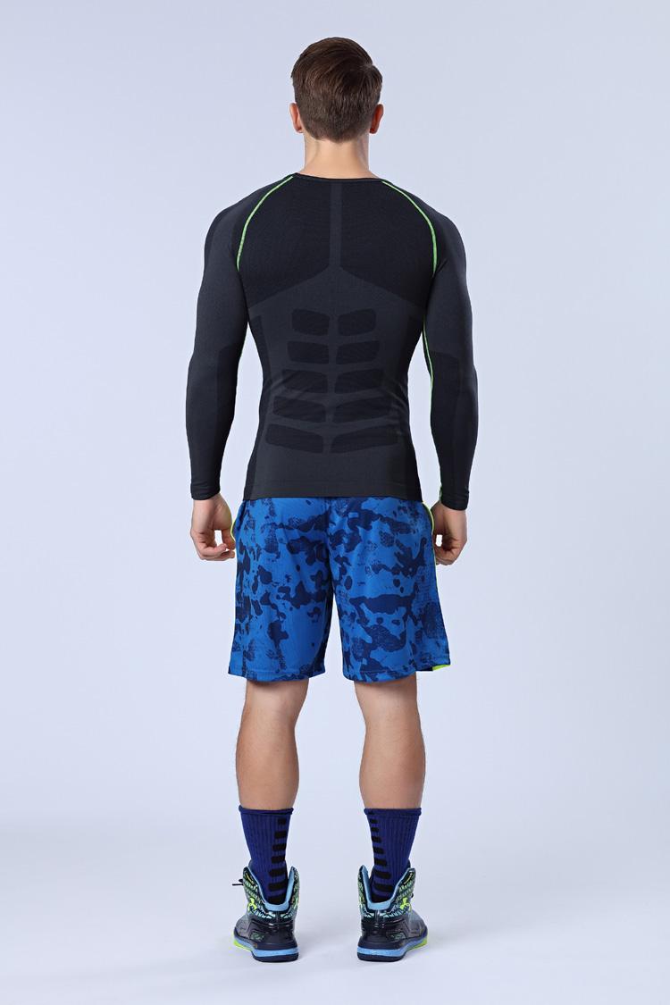 速干运动短裤男夏季薄款透气宽松休闲跑步健身篮球裤训练五分裤子