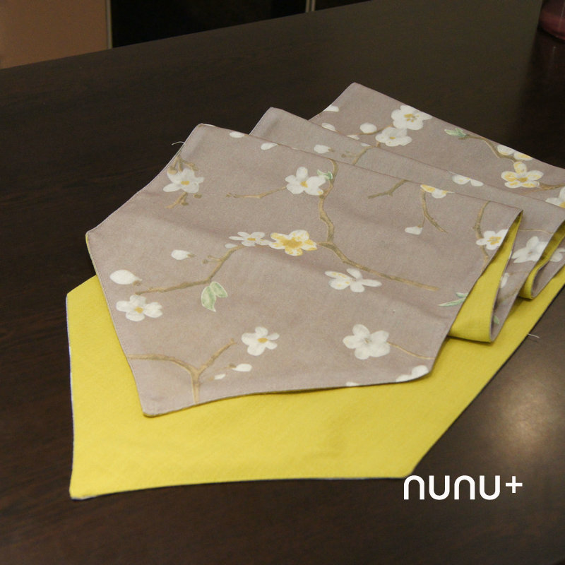 素素三角款素雅中式中国风样板间桌旗 餐旗桌布床旗长条桌布包邮
