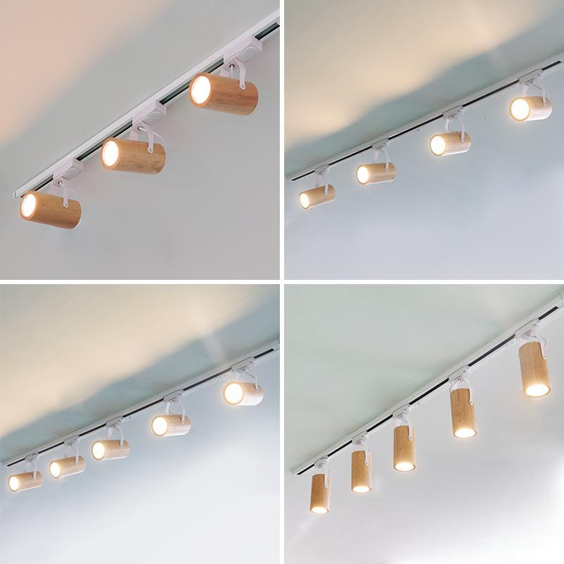 用客厅洗墙灯主卧室节能导轨灯