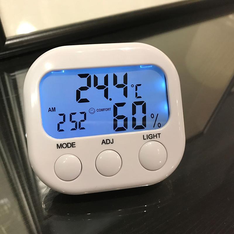 六一家电子温度计家用室内婴儿房高精度温湿度计室温计精准温度表
