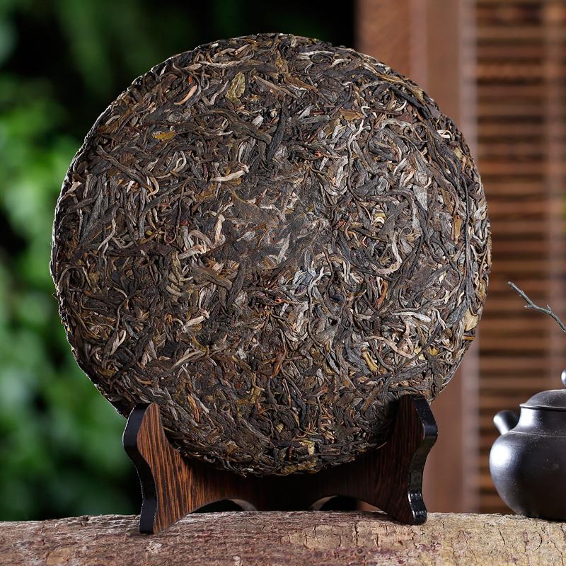 年早春勐海老班章古树七子饼特级茶叶整提 2015 云南普洱茶生茶饼