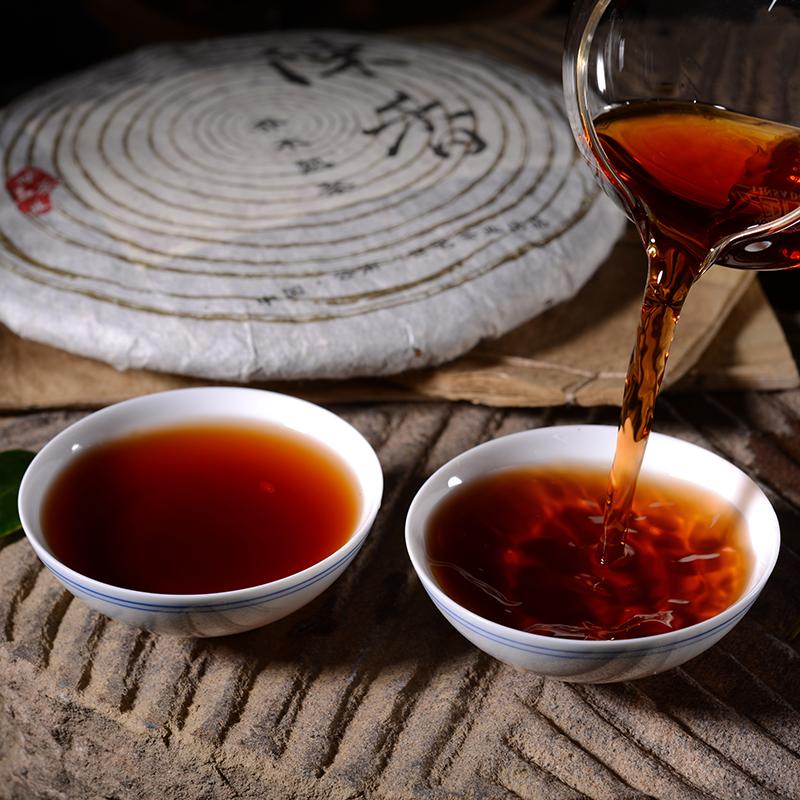 宫廷整提价 云南七子饼 年 10 年 5 年茶叶 06 饼茶 云南普洱茶熟茶