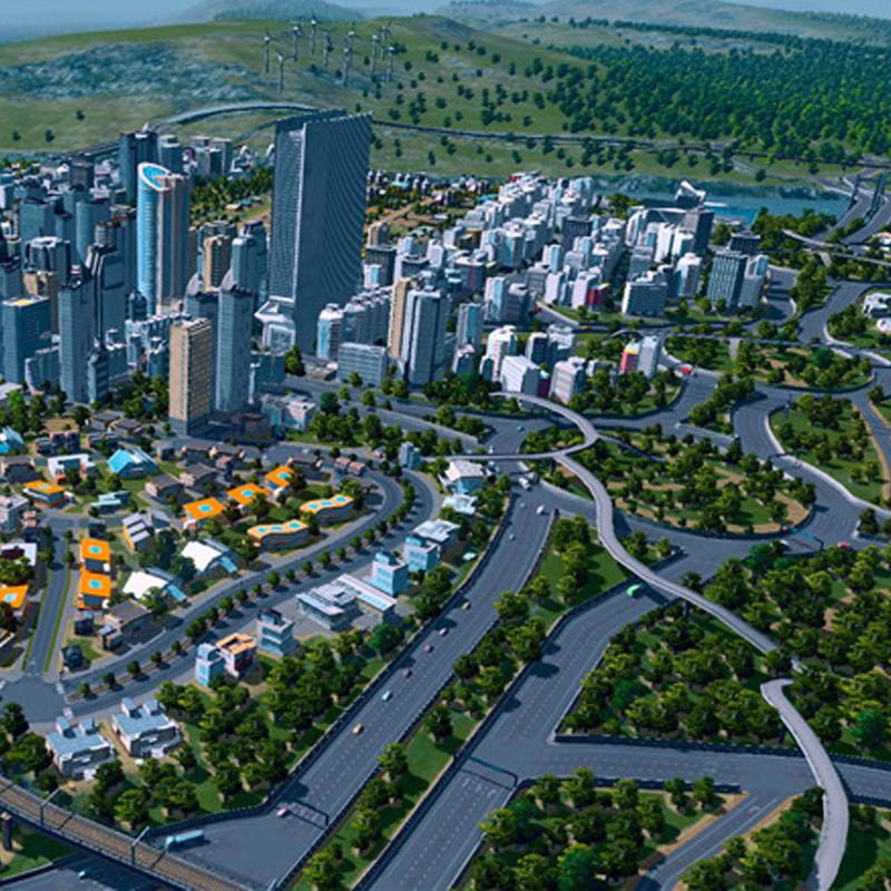 PC中文Steam正版 Cities:Skylines 城市|都市 天际线 大学校园DLC